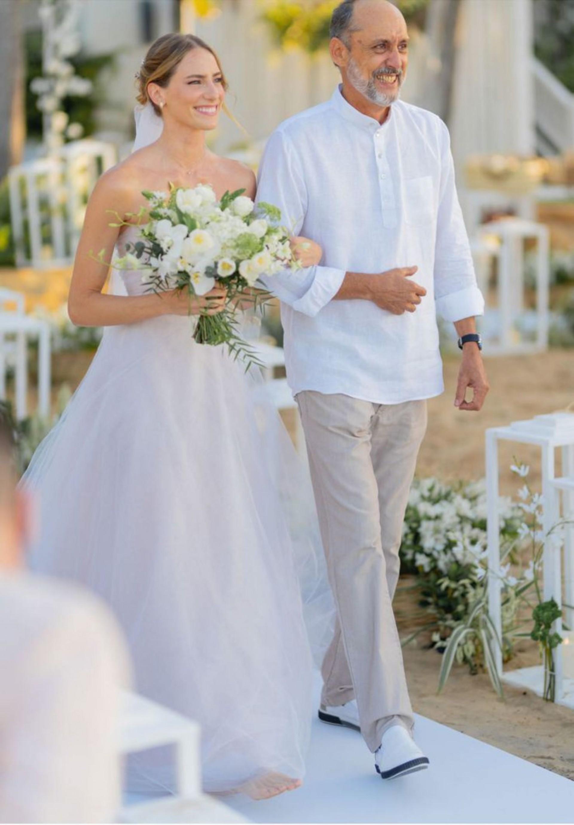 (Foto: Léo Soares/ Divulgação)A noiva com o pai