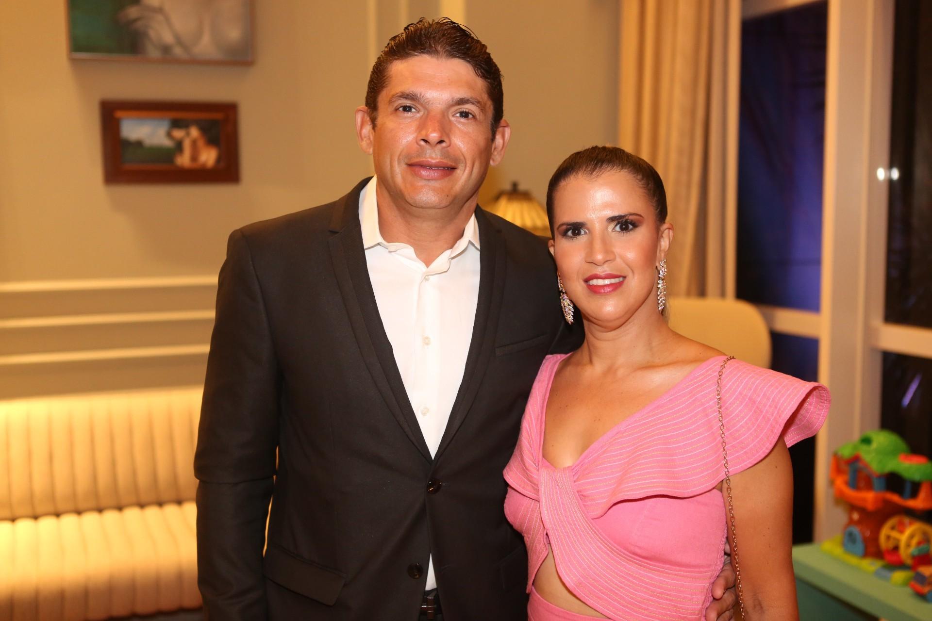 (Foto: JOÃO FILHO TAVARES)Igor Chacon e Tisa