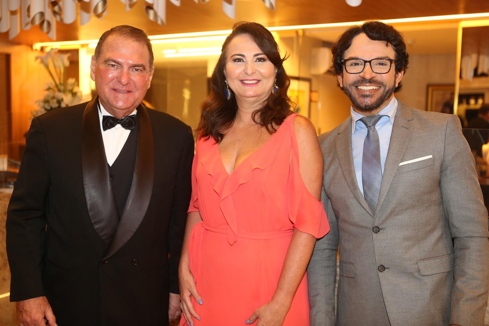 (Foto: JOÃO FILHO TAVARES)Jorio da Escossia, Fátima Santana e Diá Francisco