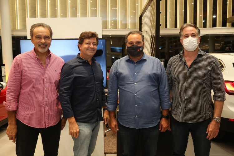George Vieira, Patriolino Dias e Marcos Pessoa