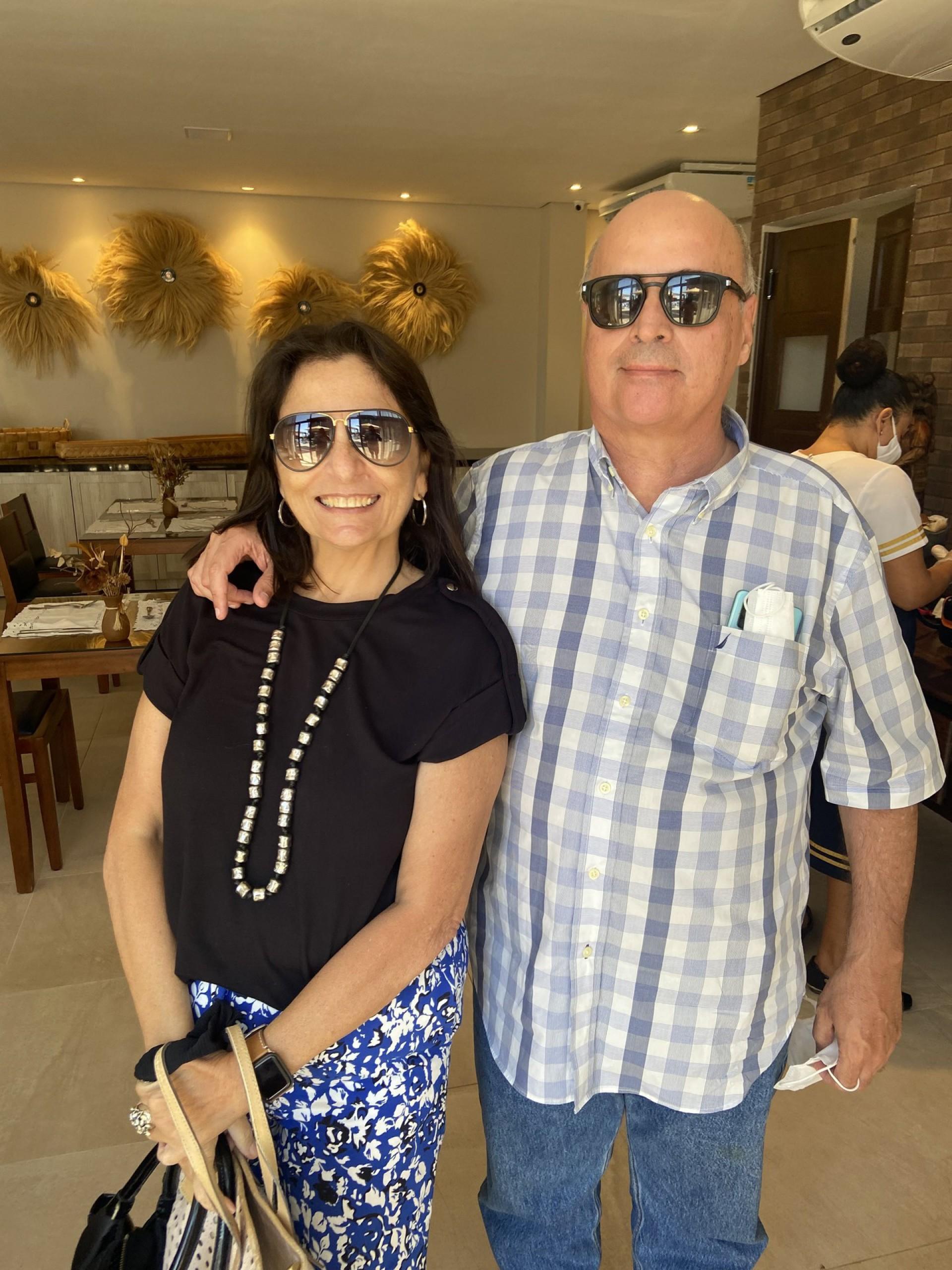 Denise Lafuente e Álvaro Antonio Mello