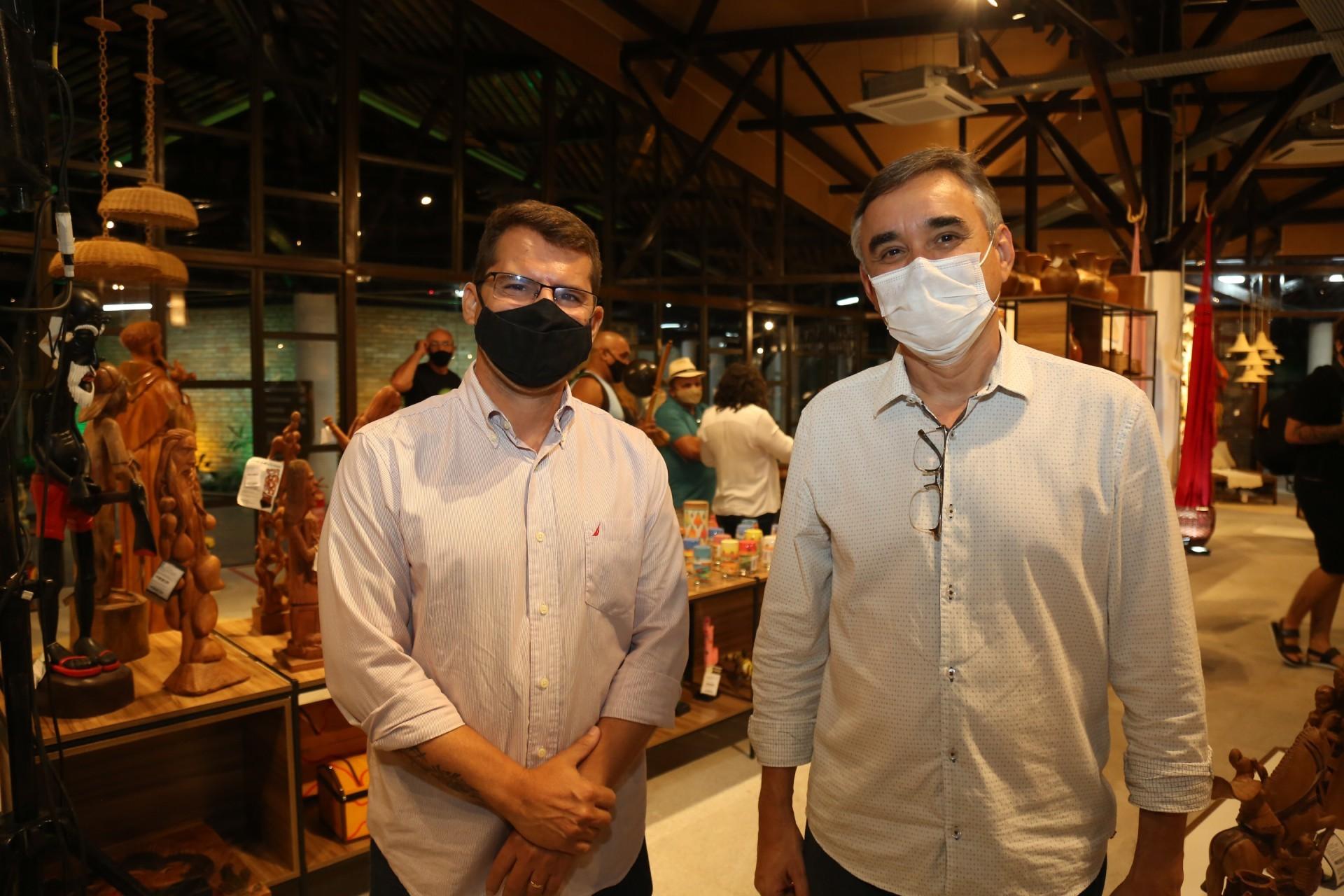 (Foto: JOÃO FILHO TAVARES)Rogerio Pinheiro e Francisco Ibiapina