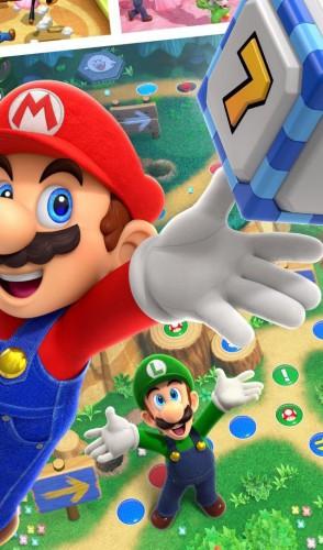 Essa é uma coleção dos tabuleiros de Mario Party, aprimorada e remasterizada, com 100 minigames no catálogo.