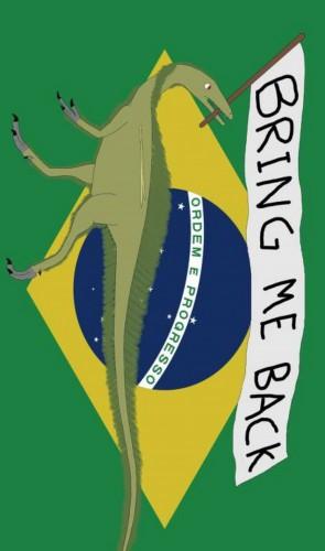 Recentemente, o museu alemão que detém o fóssil do Ubirajara se recusou a devolvê-lo ao Brasil.