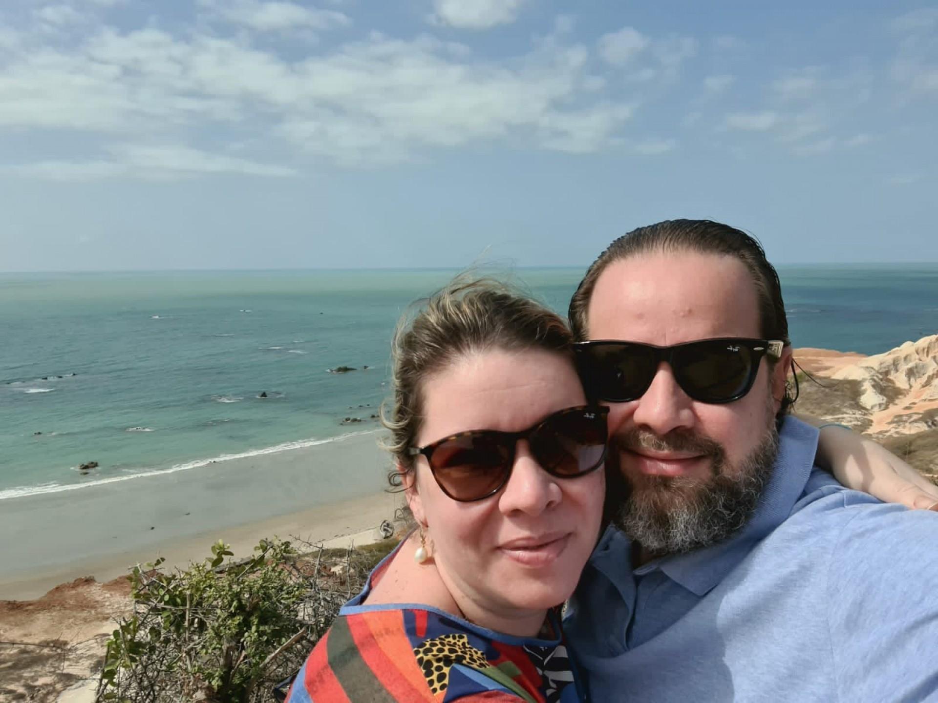Melissa e Manuel Fontenele