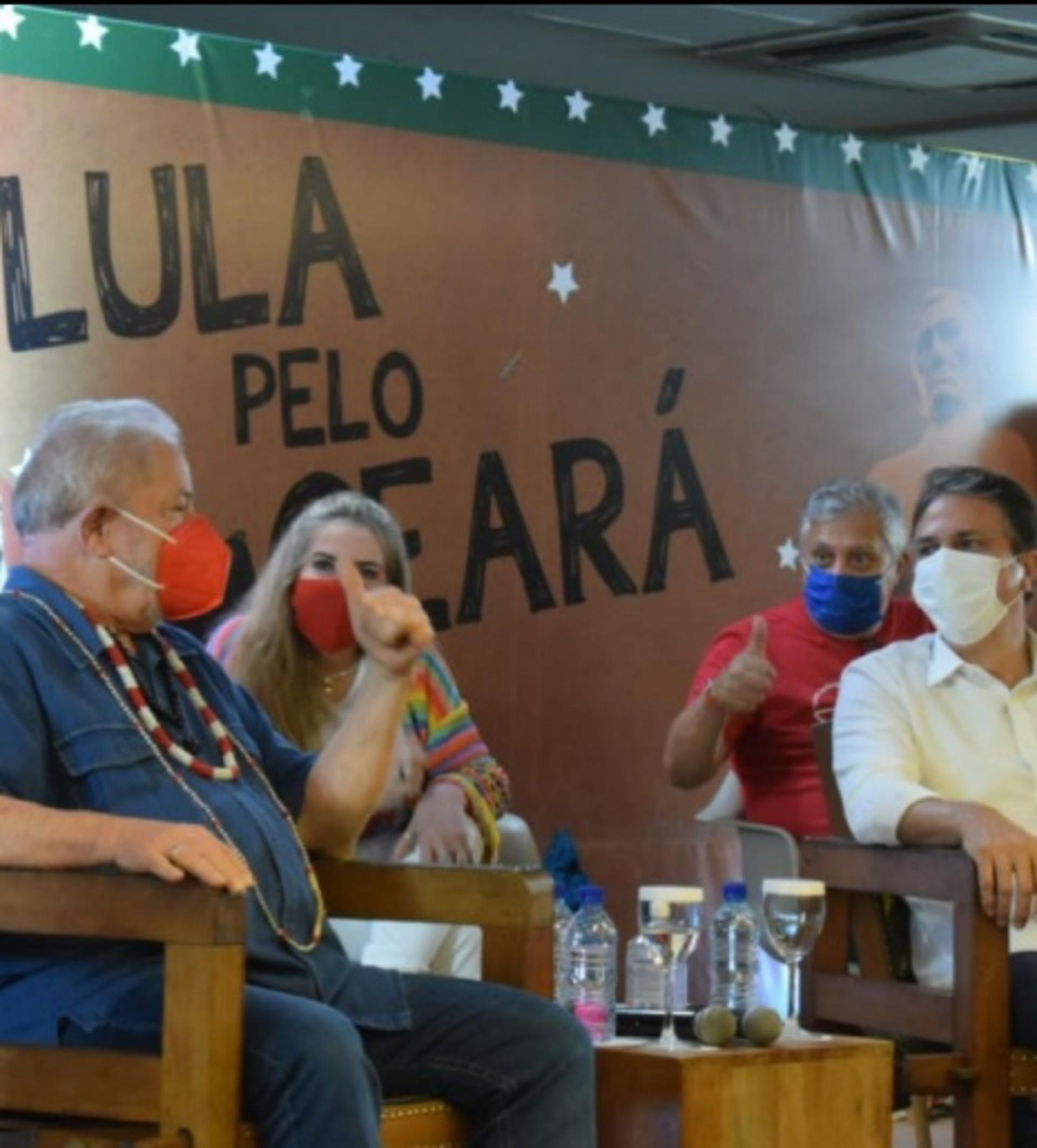 Lula se reúne em Brasília com Camilo e bancada do PT no Congresso Nacional (Foto: DIVULGAÇÃO)
