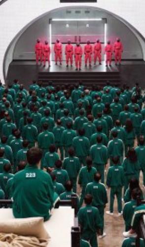 O mundo está vidrado com a série Round 6, produção sul-coreana disponível na Netflix.