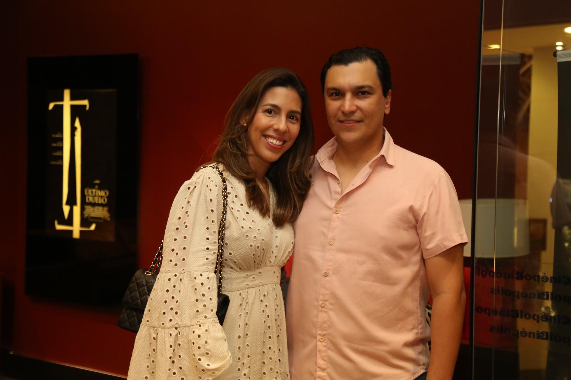 (Foto: JOÃO FILHO TAVARES)Lara e Elano Pinheiro