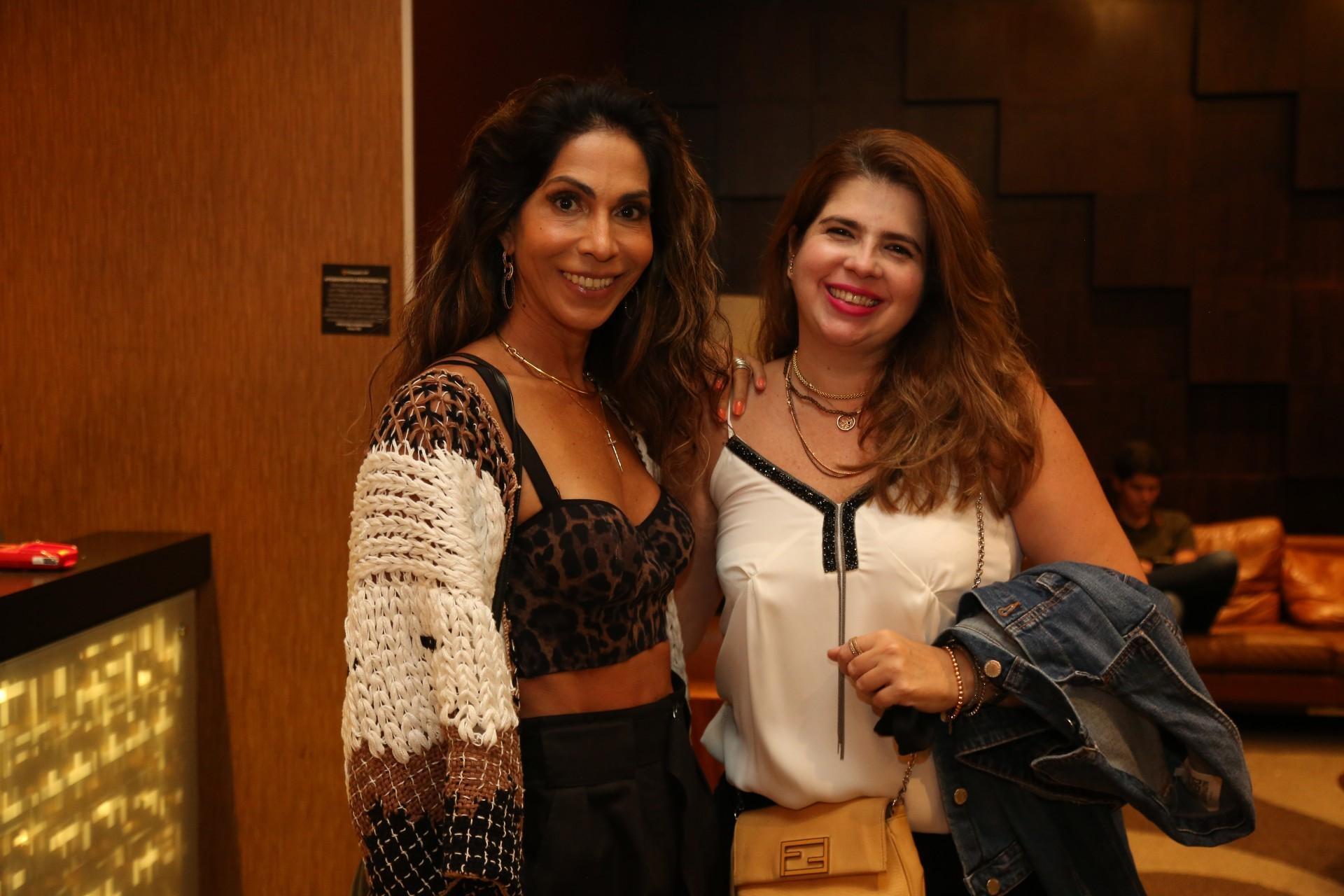 (Foto: JOÃO FILHO TAVARES)Synara Leal e Daniela Leitão