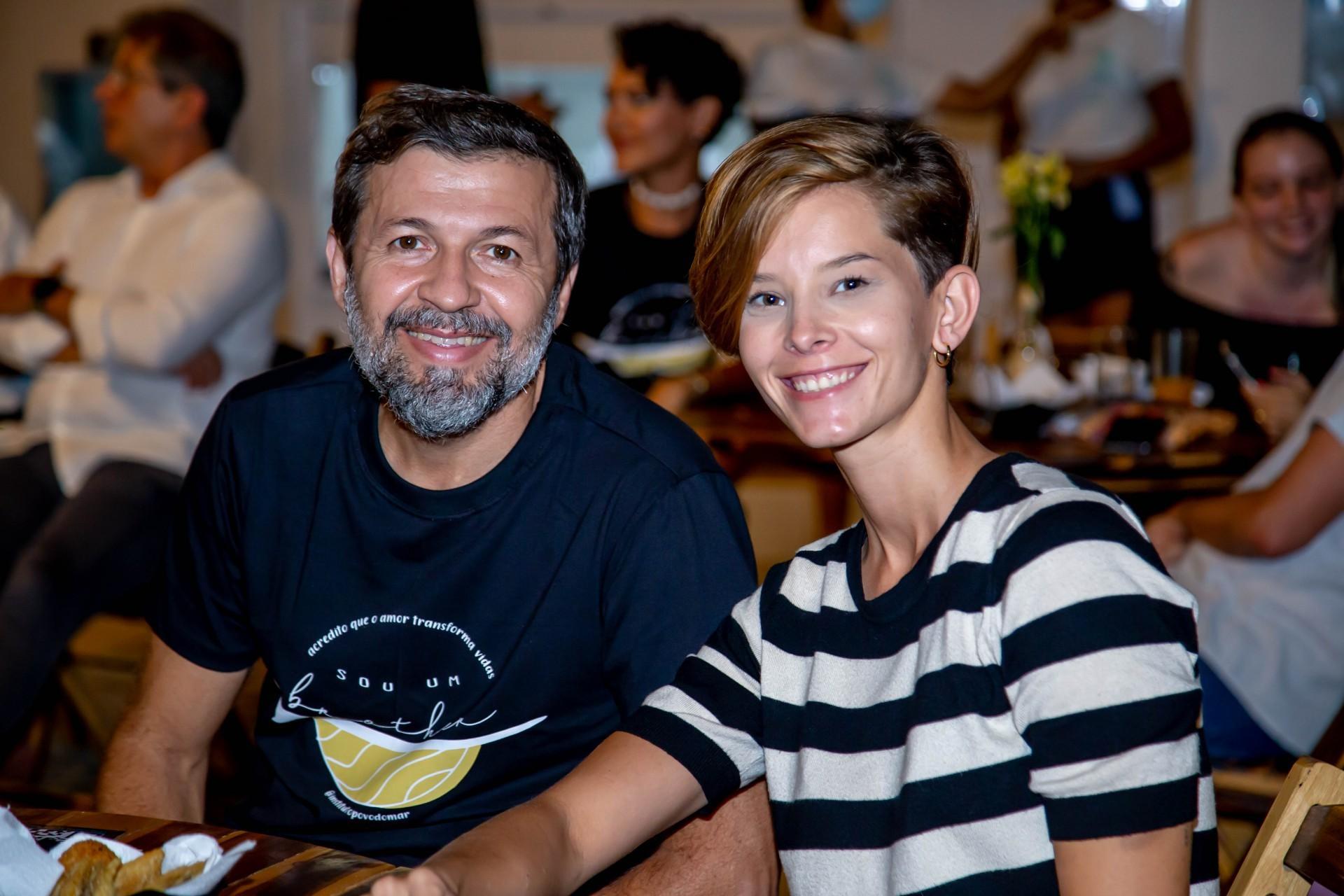 (Foto: Israel_Rodrigues/ Divulgação)Élcio Batista e Beatriz Bley