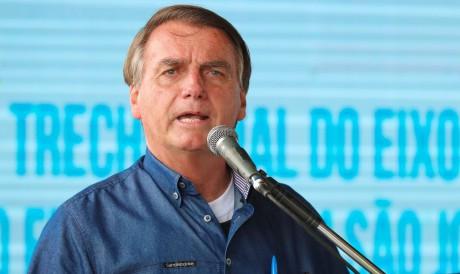 (São José de Piranhas - PB, 21/10/2021) Palavras do Presidente da República Jair Bolsonaro. Foto: Isac Nóbrega/PR