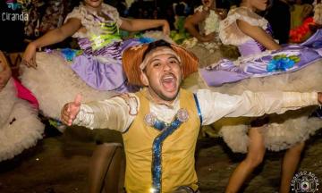 Lucas Araújo é apaixonado por quadrilha junina desde a infância
