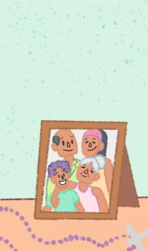 Em abril de 2020, meus pais, meu irmão, minha avó e eu adoecemos. Sintomas: sem paladar, febre e dificuldade de respirar.