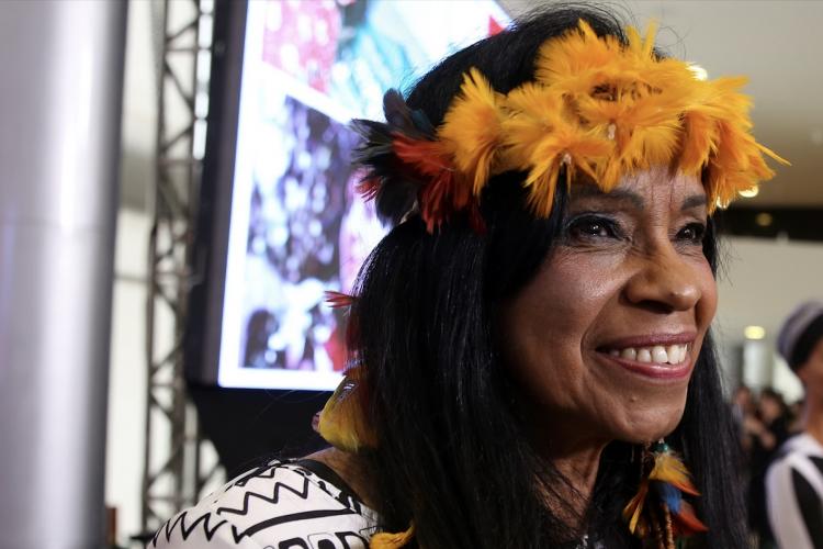 Eliane Potiguara, primeira mulher indígena a publicar um livro no Brasil